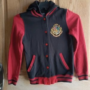 Harry Potter, size S hooded snap button jacket